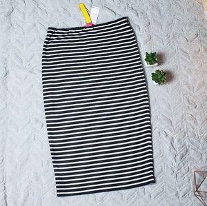NWT Catherine Malandrino Black & White Skirt